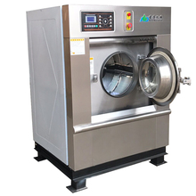 Industrial Hotel Laundry Equipment , 15Kg Full Auto Professional hospital washer and dryer
