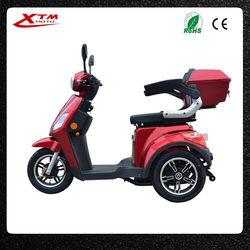 pedal assisted elderly adult 400w/500w tricycle electric