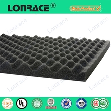 Customized studio acoustic foam flooring underlay 2mm 15m panels 4x8