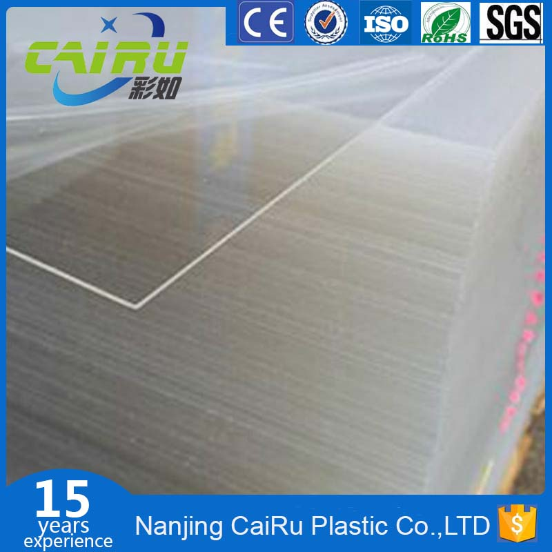 Transparent 0.5mm ultra-thin acrylic sheet