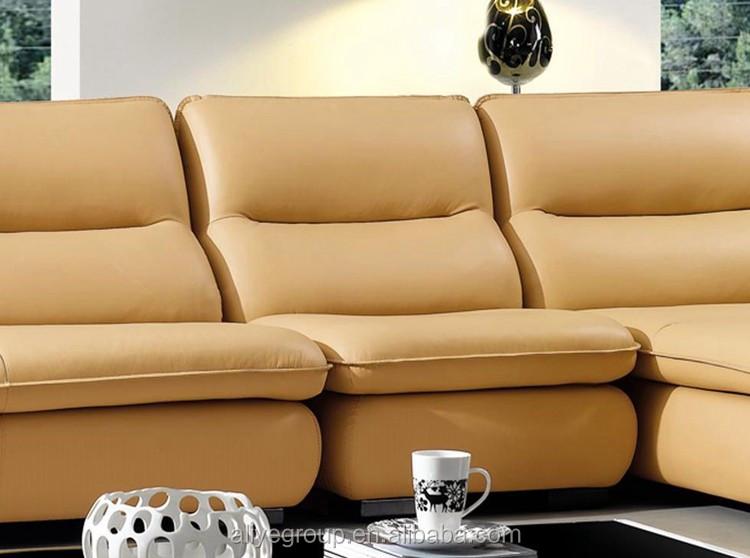 Ye 515 american upholstery sleeper sofa soft corner l for Soft leather sofa bed
