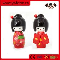 High quality hand carved japanese anime dolls toy