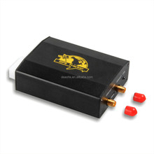 gps tracker tk103 working based on existing GSM/GPRS network and GPS satellites made in china factory