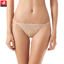 OEM mix color transparent lace t back thong fashion mature sexy woman panty