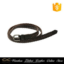 Most popular different types fashion gold adjustable women skinny belt
