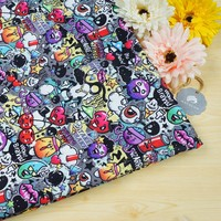 Low MOQ digital printed breathable PUL fabric for diapers
