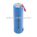 Lithium Ion 14500 3.6V 750mAh cylindrical AA size rechargeable batteries
