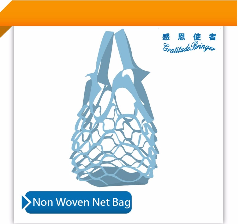 Non Woven New Type Net Carry Bag for Shopping & Grocery Fruit
