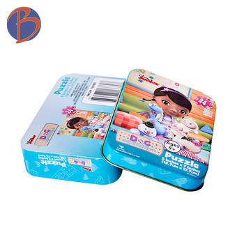 High Quality rectangular candy mints tin box