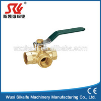 New types brass ball valves with filter hot new products