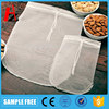 Amzon food grade reusable nylon nut milk filter bag 12'' x 10'' ,12''x12''