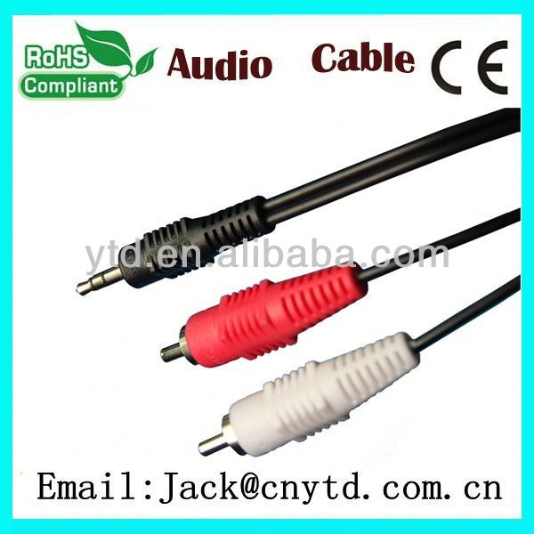 Hot Saling pin din plug to rca jack Super speed