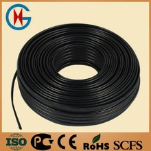 Low-temperature series self regulating heating cable long service life