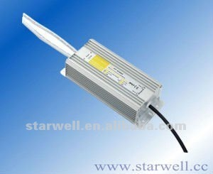 with CE,FCC waterproof constant voltage high power led drivers 36V 1500mA