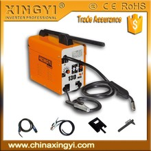 GOOD QUALITY MIG/MAG/CO2 WELDER NO GAS MIG-130 SMALL PORTABLE MIG WELDING MACHINE