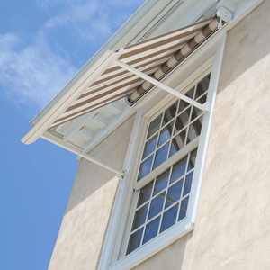 Hot Sale Drop Arm Window Awnings for window sun rain protection