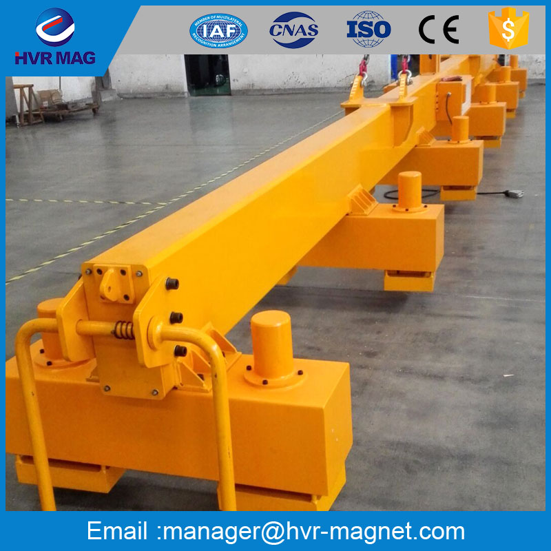 HVR MAGNETICS electro permanent lifting magnet mill master type
