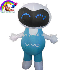 Hot sale inflatable advertising man inflatable christmas cartoon lovely for advertising