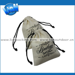 Drawstring fabric bags/muslin storage bags/cotton bag online shopping