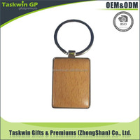 custom logo creative carving souvenir wood keychain with your own design
