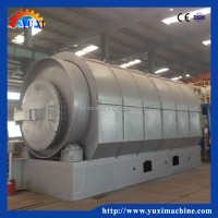 95% high yield Waste Engine Mobile Oil Recycling with CE,ISO