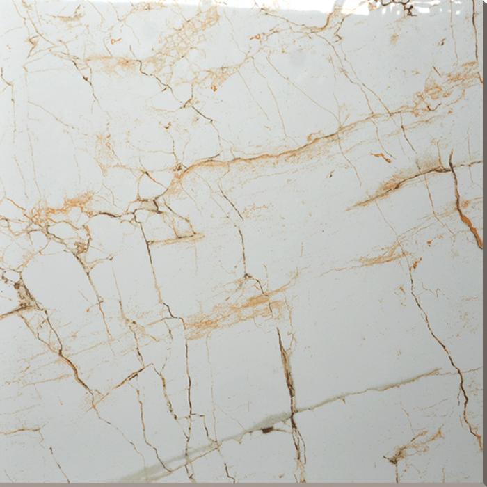 Hs637gn Calacatta Gold Marble Porcelain Floor Tile Buy Porcelain