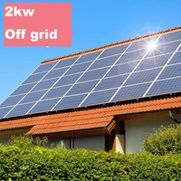 2kw home solar power system/stand alone solar power system