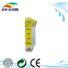 shanghai factory high quality for HP 11 C C4836A ink cartridge Remanufactured & Compatible inkjet cartridge