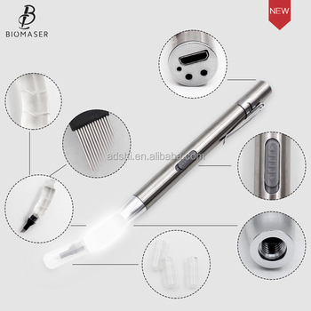 NEW Microblading supplies led light Microblading handtool with disposable microblading needles