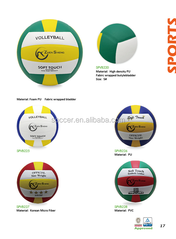 Zhensheng official size 5 volleyball, View official size 5 ...