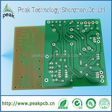 Leading pcb board manufacturing, green pcb single side prototype