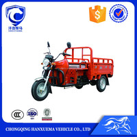 Hot selling 3 wheel motorized air cooling engine cargo tricycle