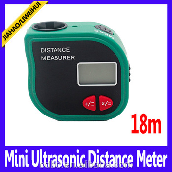 18m 60ft range finders 18m mini digital laser distance finder tape measure