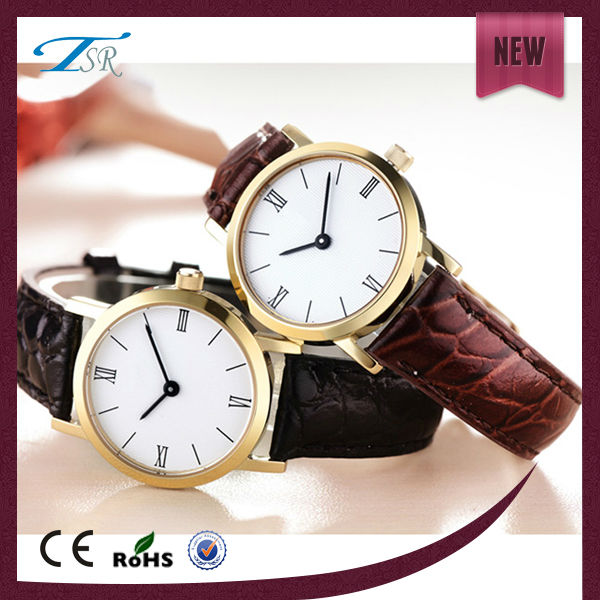 Luxury brand your own name gold case energy waterproof fashionable watches men