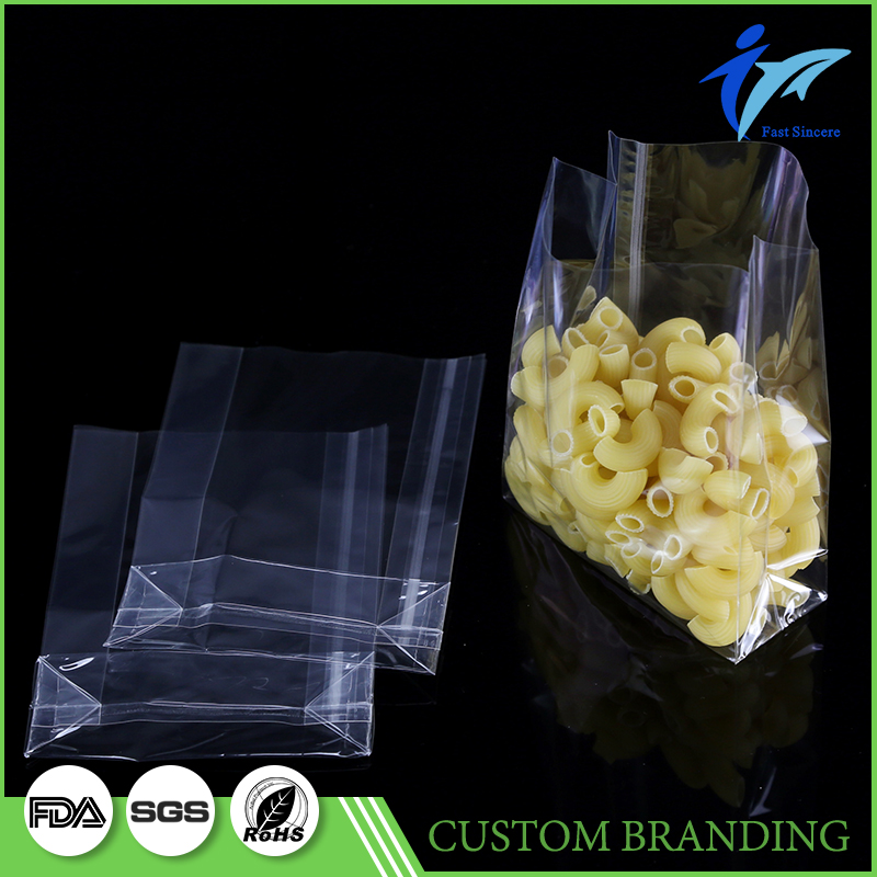Clear Grocery Plastic Bean Bag Bulk For Sale