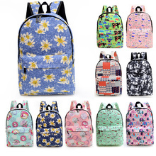 3D digital printing backpack Fashion Outdoor Sport hiking Backpack Bag promotion cheap customized school backpack