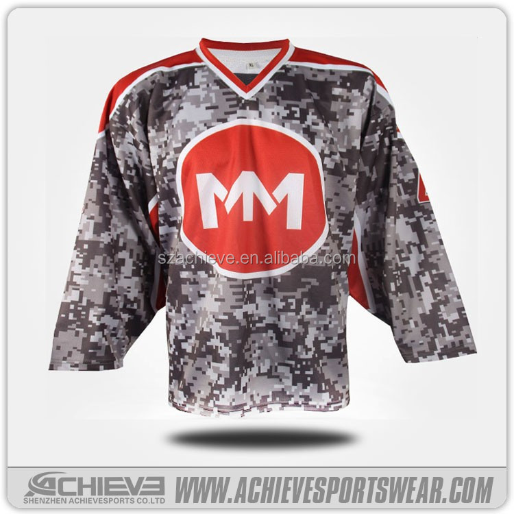 Custom ice hockey jersey for club team association