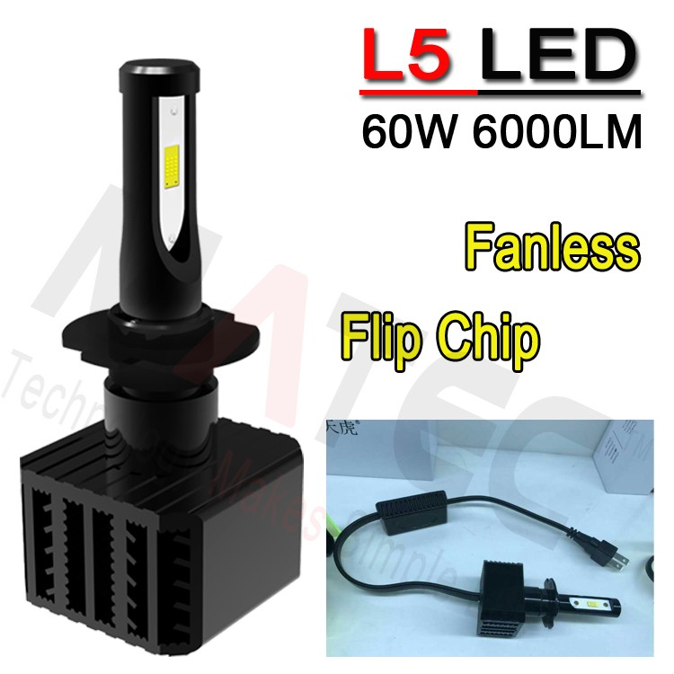 2017 LED Headlight NEW 6S L6 G5 G6 G20 L5 Canbus Car LED Headlight 40w 60w 80w Auto Parts LED Headlight H4 H7
