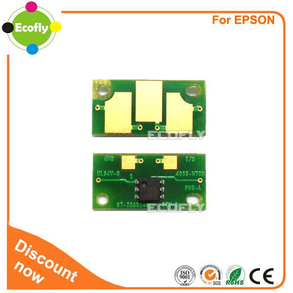 Toner reset chip for Epson EPL-6200 6200L compatible ink cartridge with chip printer spare parts