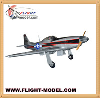 "Large Scale RC Model P-51 Mustang 96"" 100CC Fiberglass RC Airplane"