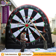 Inflatable football Dart Board velcro soccer darts game for neuen Sport