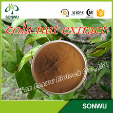 High Quality Natural Organic Cola Nut Extract/ Cola Nut Powder