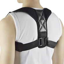 Upper Back Posture Corrector Adjustable Back Brace Workout Support for Back Pain Relief