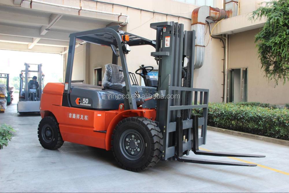 Cheapest Price 5 Ton Diesel Forklift Truck/small Capacity Diesel Forklift Trucks/double Mast Forklift Made In China