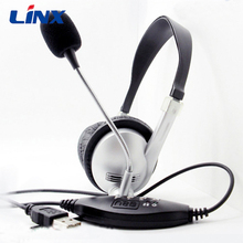 PC usb headphone wired gaming headset headphone