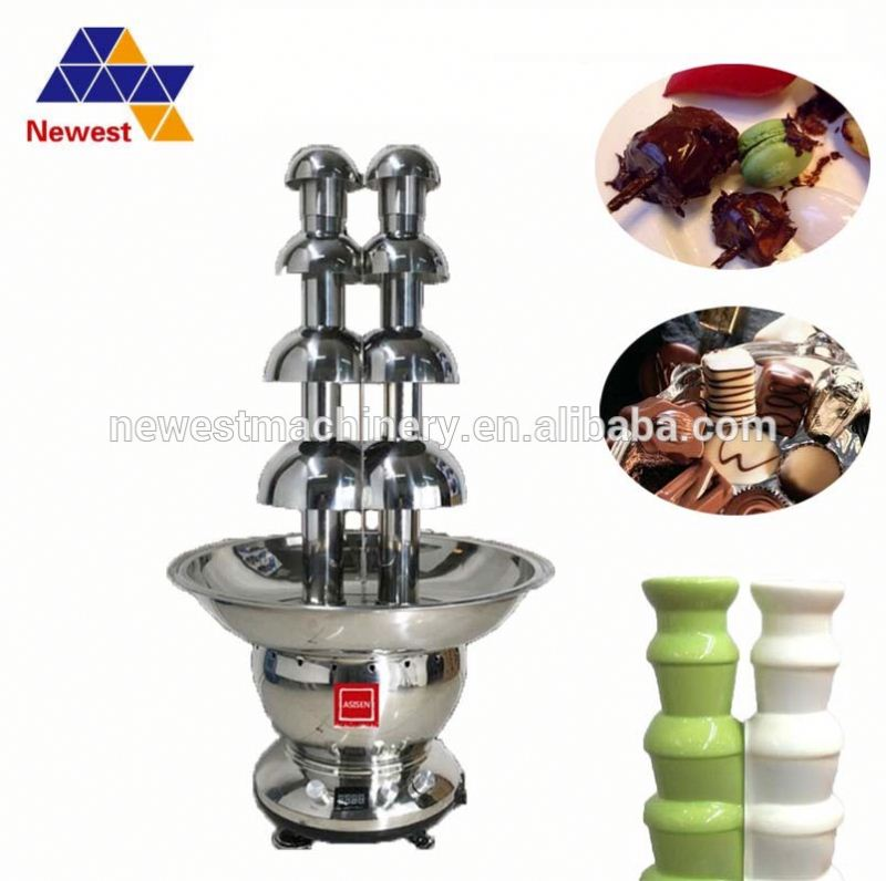 dual/buffet/household/industrial/commercial chocolate fountain machine