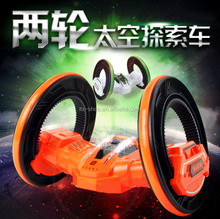 High Quality Remote Control 2 Wheel Stunt Car, Electric 360 Degree Rotating Toy