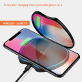 Wireless Mobile Phone Charger With Make Up Mirror For Android For iPhone Phone Wireless Charger