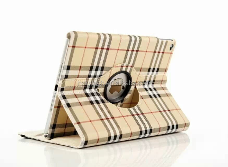 2014 Best 360 Rotating Flip Leather Case For iPad series