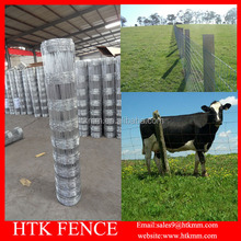 High Tensile Farm Livestock Metal Fence Panels For Sheep/Cattle/Chicken